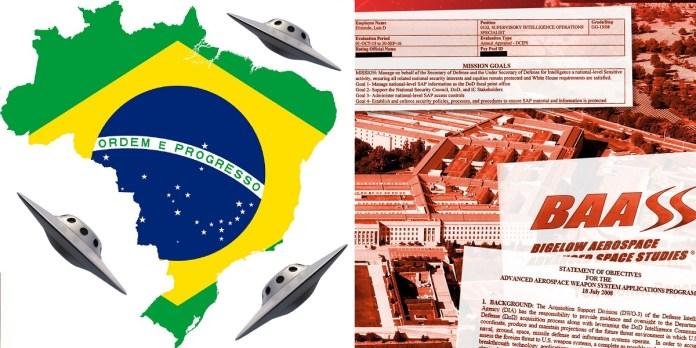Equipe de investigação de OVNIs do governo dos EUA visitou o Brasil