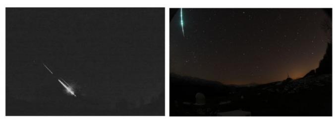 Três meteoros explodem na atmosfera sobre a Bélgica e a Alemanha