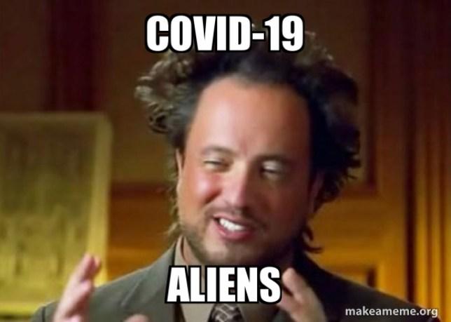 A conexão entre os ETS e o Covid-19 - Uma ficção sombria para uma humanidade aborrecida