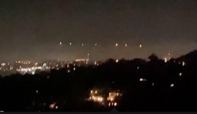 Várias testemunhas vêem estranhas luzes no céu, dos EUA ao México