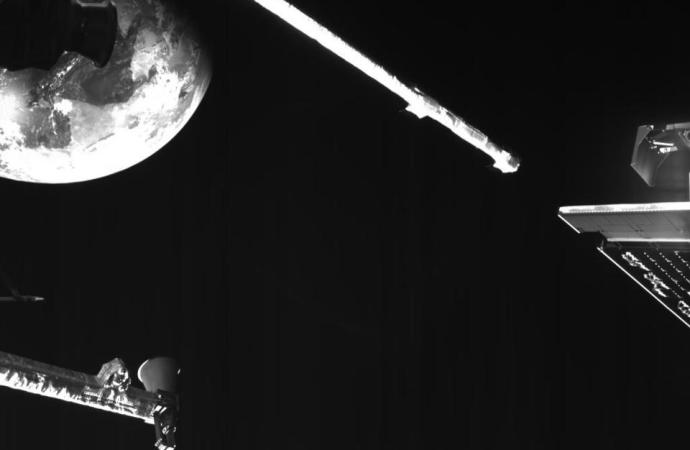 Espaçonave BepiColombo a caminho de Mercúrio captura imagens surpreendentes
