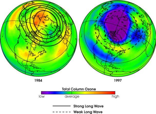 Buraco de tamanho recorde abre na camada de ozônio