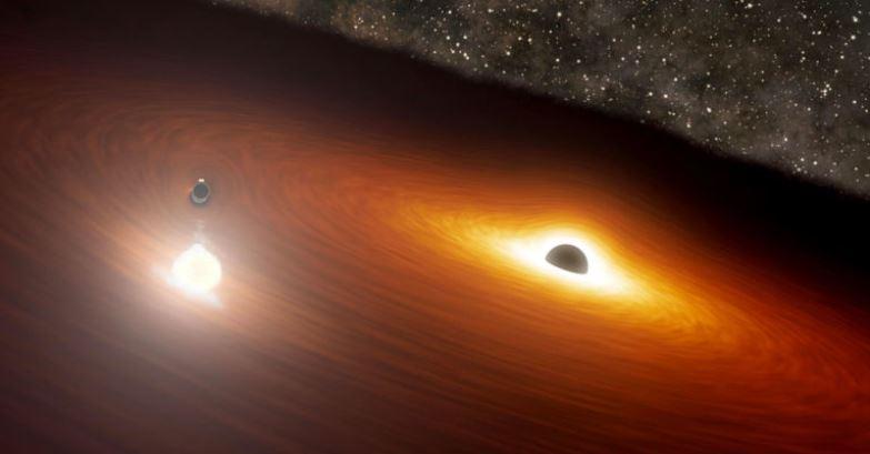 Astrônomos encontram buraco negro mais próximo da Terra, e é estranho
