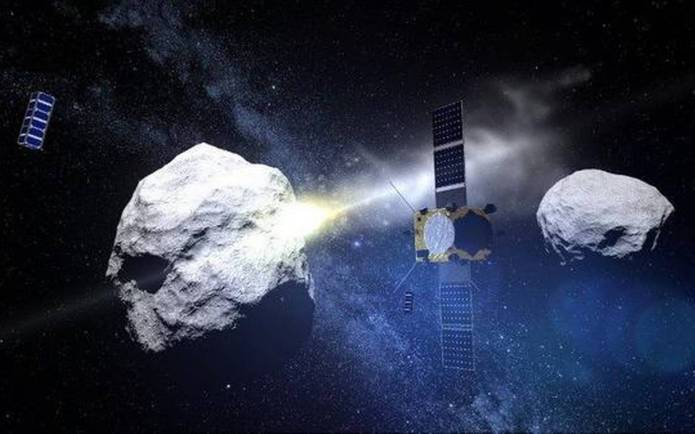 Teste de defesa de asteroides da NASA pode desencadear chuva de meteoros