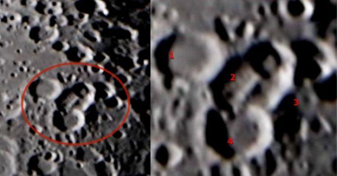 Astrônomo amador fotografa enormes estruturas artificiais na Lua