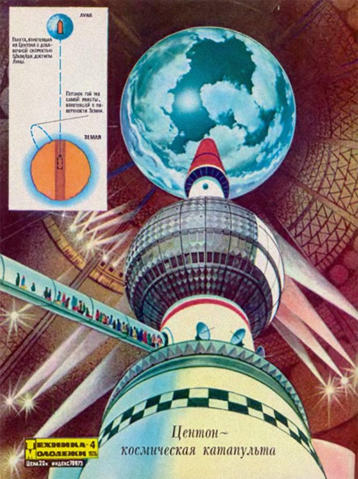 """Ideias """"malucas"""" imaginadas pelos soviéticos para a colonização espacial"""