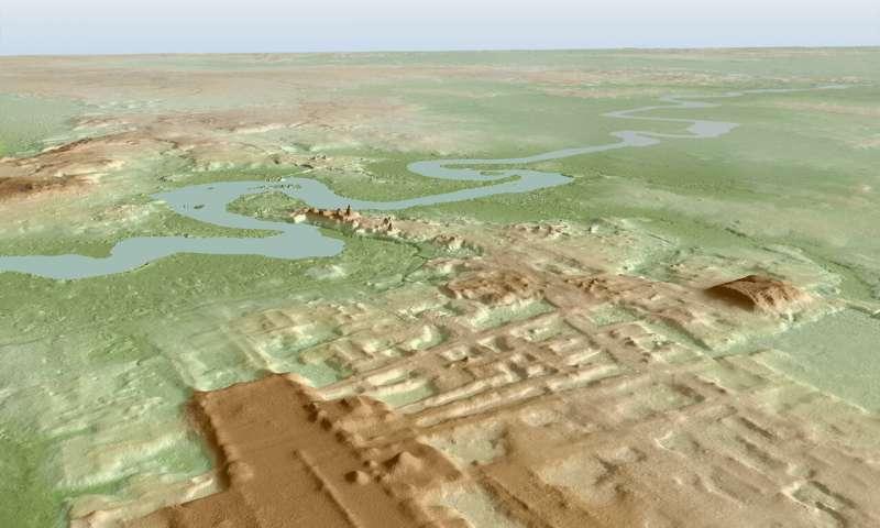 Este é maior monumento maia já encontrado. Em Marte, seria pareidolia