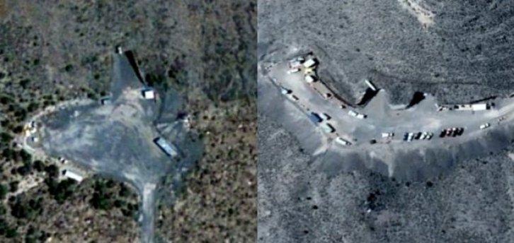 São descobertas entradas para a parte subterrânea da Área 51