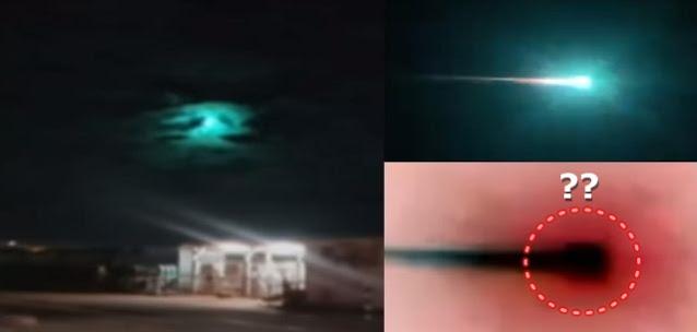 "Misterioso ""meteoro"", aparentemente retangular, cruza o céu da Austrália"