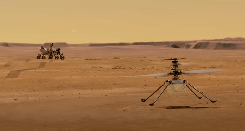 NASA revela o que seu helicóptero realmente irá fazer em Marte