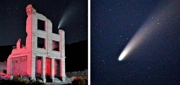 Anomalias ao redor do cometa Neowise: OVNIs o vigiam?