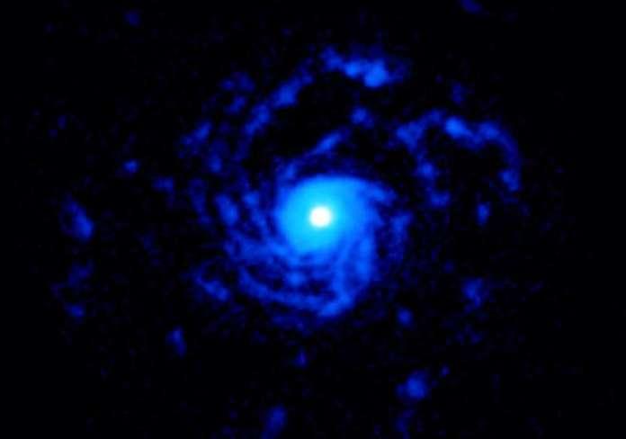 Estruturas misteriosas em espiral são encontradas em estrela estranha