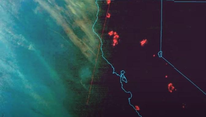 Armas de energia direcionada são detectadas na costa da Califórnia?