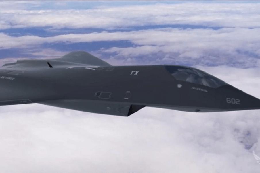 Segredo revelado! Força Aérea dos EUA testa novo caça de 6ª geração