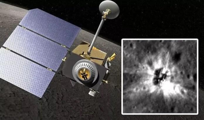 Enorme objeto misterioso é encontrado em cratera da Lua