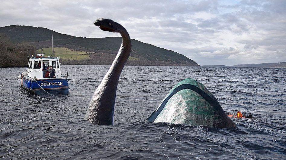 Nova leitura de sonar encontra de novo suposto Monstro de Lago Ness