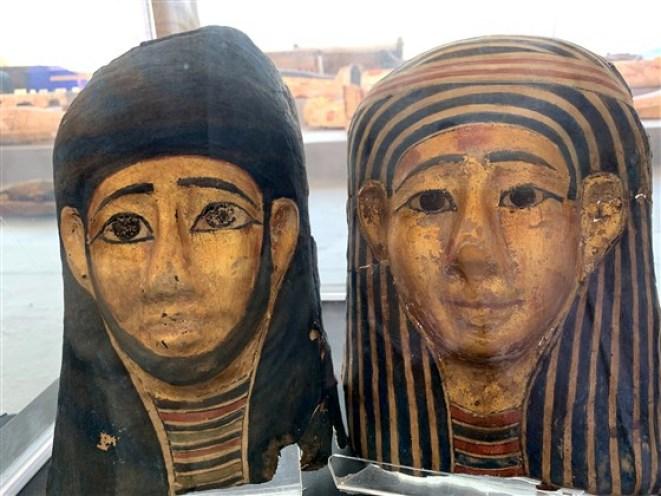 Múmias e antiguidades reveladas no Egito, mais de 2.500 anos após seu enterro