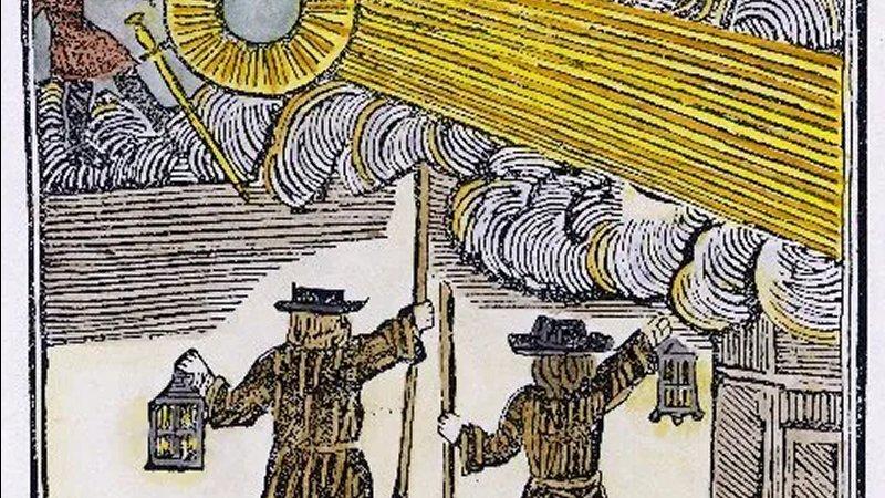 Quem ou o que estava voando pelo céu noturno em 16 de dezembro de 1742?