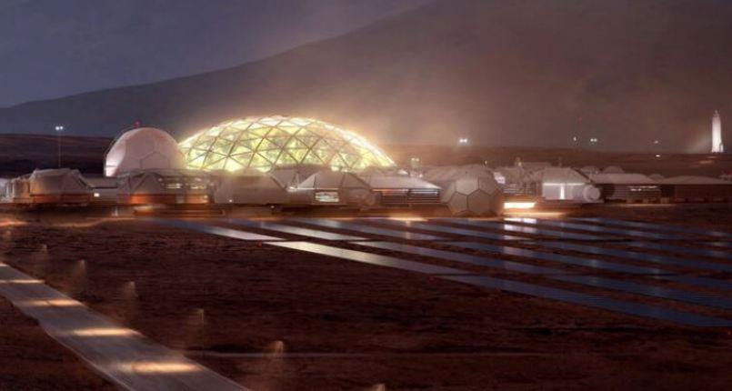 """Elon Musk: """"A primeira cidade de Marte começará com cúpulas de vidro"""""""