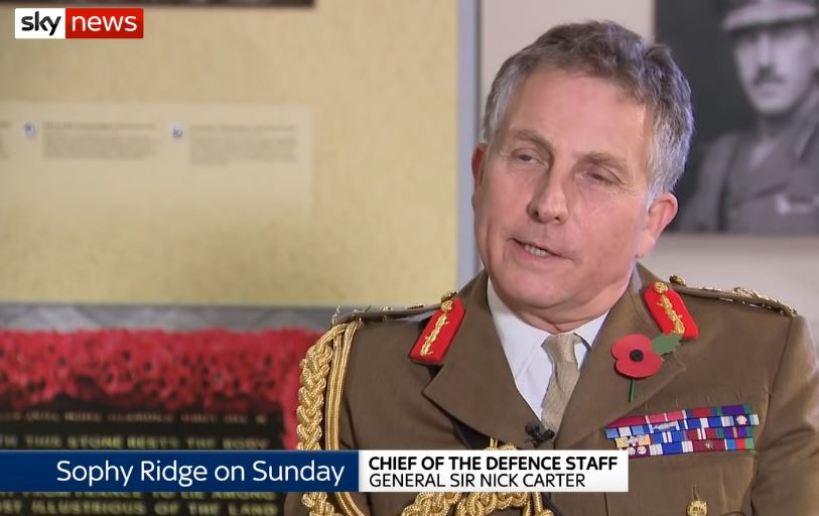General do Exército Britânico alerta sobre ameaça de uma 3ª Guerra Mundial