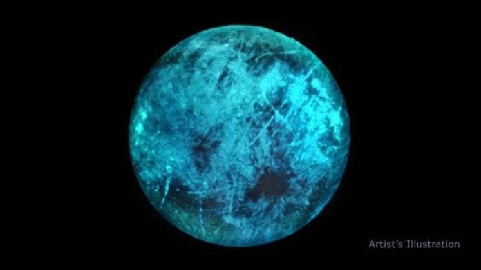 "Europa, lua ""nuclear"" de Júpiter, brilha no escuro"