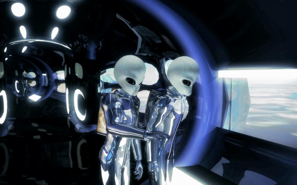 Talvez os alienígenas realmente estejam aqui - uma visão da ciência