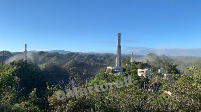 Notícia triste: O radiotelescópio de Arecibo desmoronou