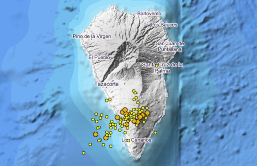 Novo terremoto sob o vulcão La Cumbre Vieja é sinal de mega-tsunami?