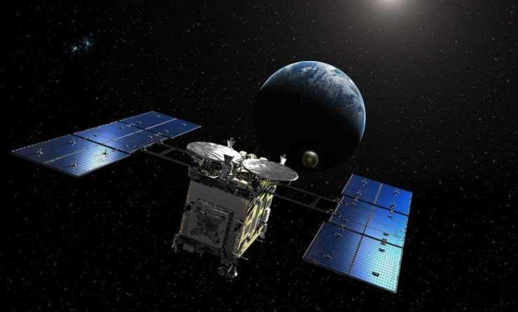 Sonda transportando materiais de um asteroide distante chega à Terra