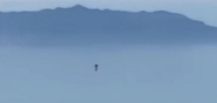 O esquivo 'jetpack man' é filmado perto de Los Angeles