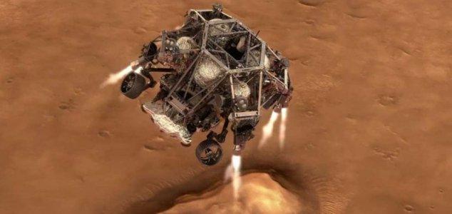 "O jipe-sonda Mars Perseverance terá ""7 minutos de terror"""