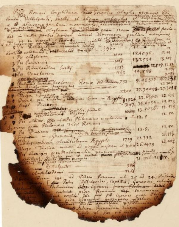 Anotações queimadas revelam a pesquisa de Isaac Newton sobre o Apocalipse