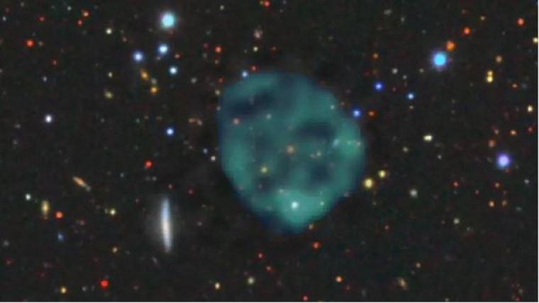 Círculos fantasmagóricos no espaço não podem ser explicados.