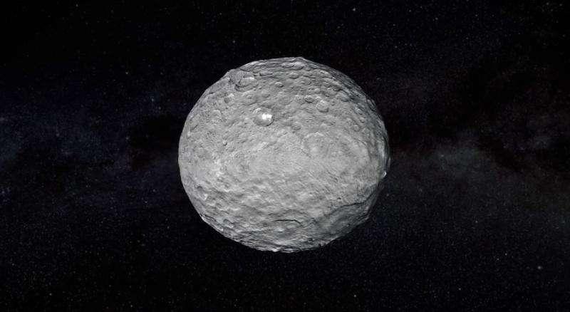 Físico propõe mega-satélite povoado por humanos orbitando Ceres