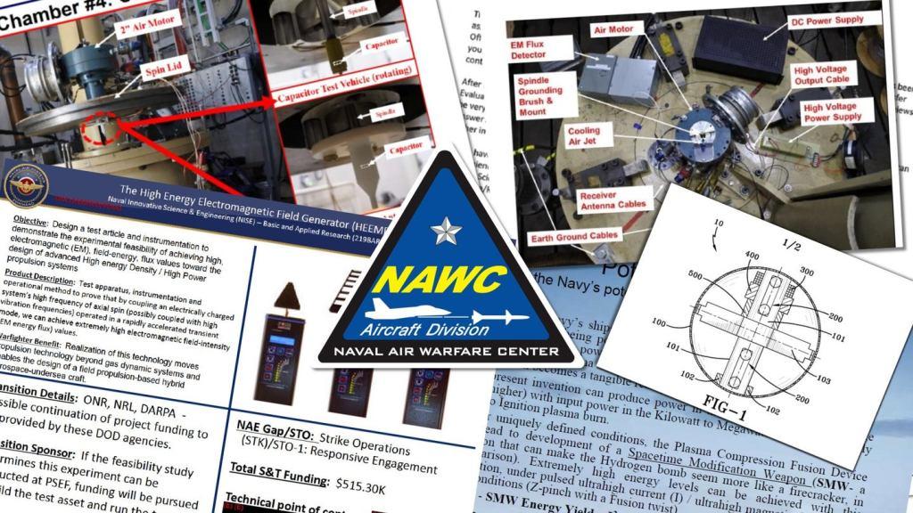 """Patente da Marinha (EUA) falam de """"arma de modificação espaço-tempo"""""""