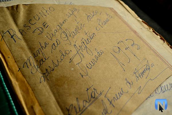 Neta revela livro escrito por avô que dizia ter sido abduzido por ETs