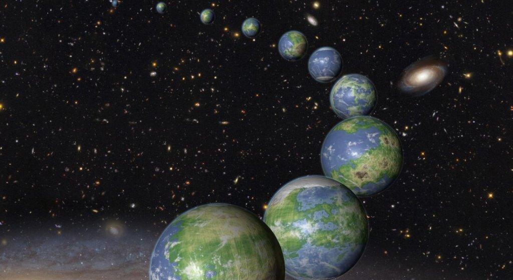 A Via Láctea pode estar repleta de planetas com oceanos e continentes