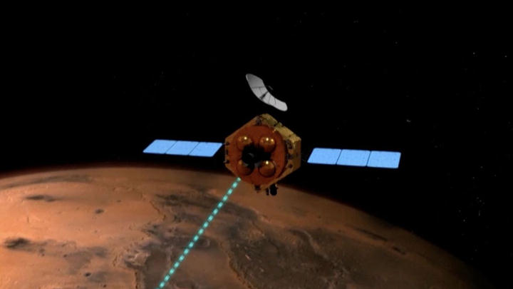 Jipe-sonda Tianwen-1 da China chega a Marte