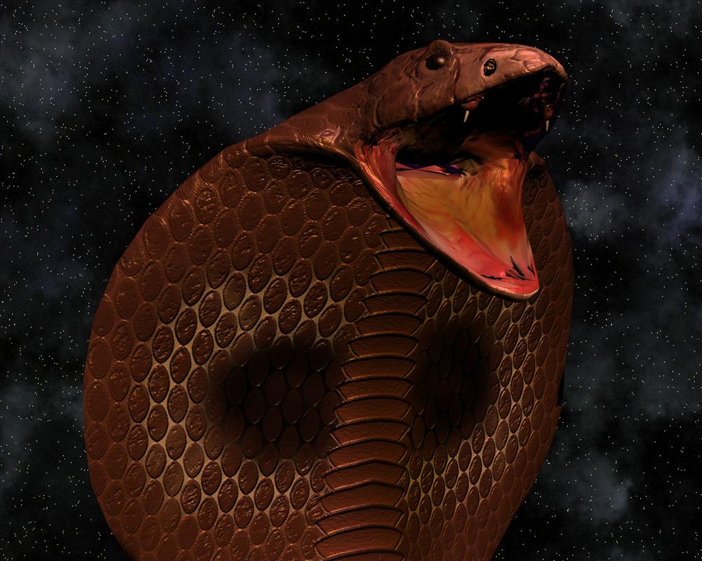 Humanos poderiam desenvolver a habilidade de uma cobra de cuspir veneno