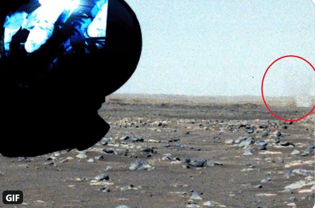 Jipe-sonda Perseverance recém filmou um tornado na superfície de Marte