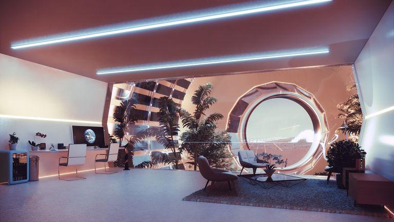 Nüwa: o impressionante projeto para cidade sustentável em Marte