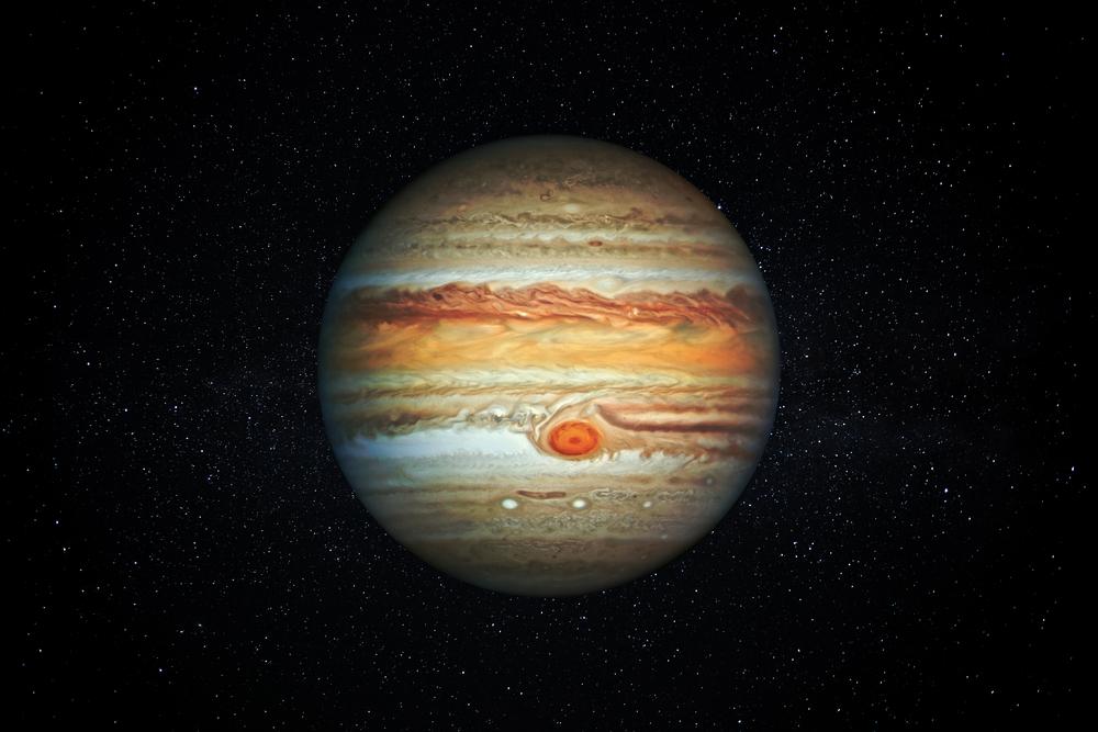 A Grande Mancha Vermelha de Júpiter é uma estação intermediária para a vida?