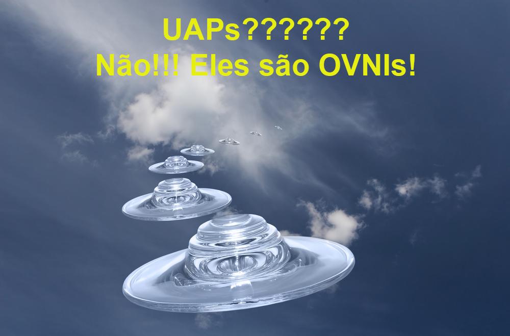 A lavagem cerebral da sigla UAP, substituindo a sigla OVNI