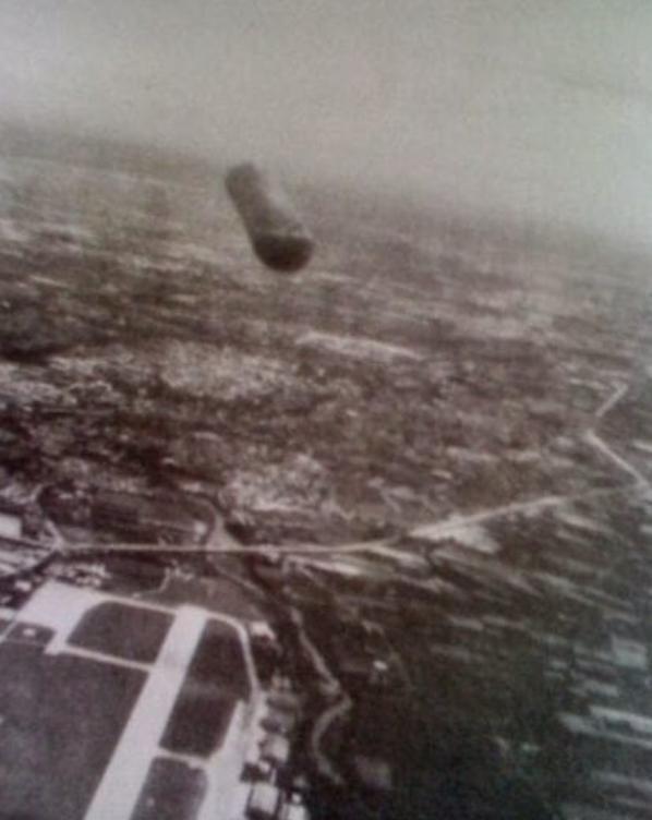 Piloto militar fotografou um OVNI sobre a Itália em 1979