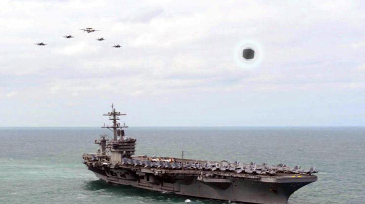 Amanhã (29) será mostrado novo vídeo de OVNI obtido pela Marinha dos EUA