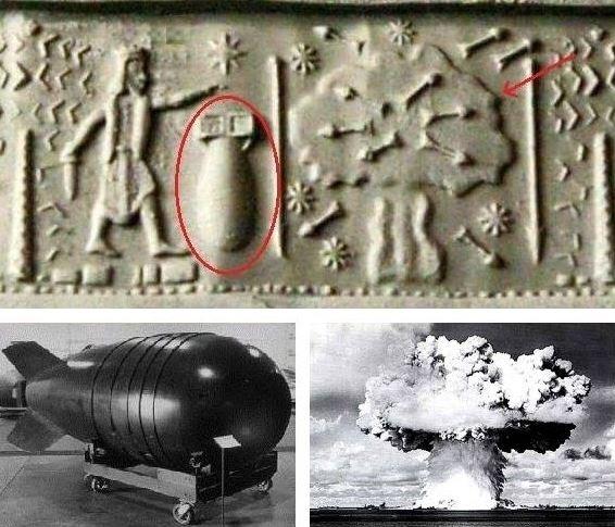 Guerra nuclear na antiguidade: teoria e evidências