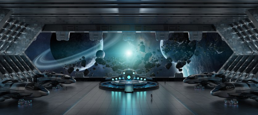 A tecnologia alienígena pode aparecer como objetos naturais no universo