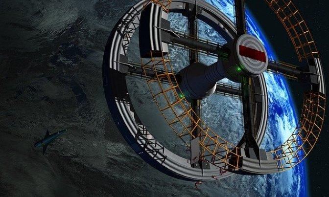 Alguém está construindo secretamente uma Estação Espacial particular