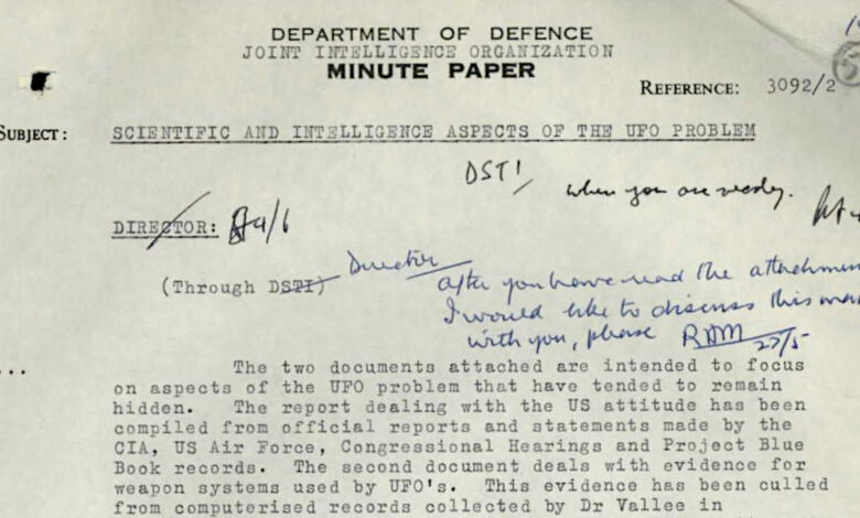 Mais arquivos sobre OVNIs são desclassificados na Austrália