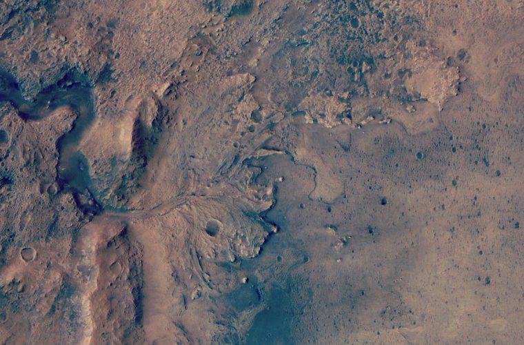Cratera Jezero em Marte foi  lar de um delta de Rio, confirma novo estudo